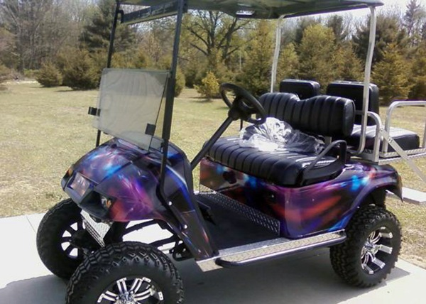 Golf Cart Wraps Tampa Orlando Miami Clearwater